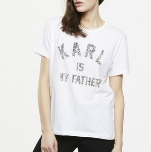 Eleven Paris Karl Is My Father Tee